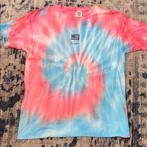 Tie dye aspen t-shirt